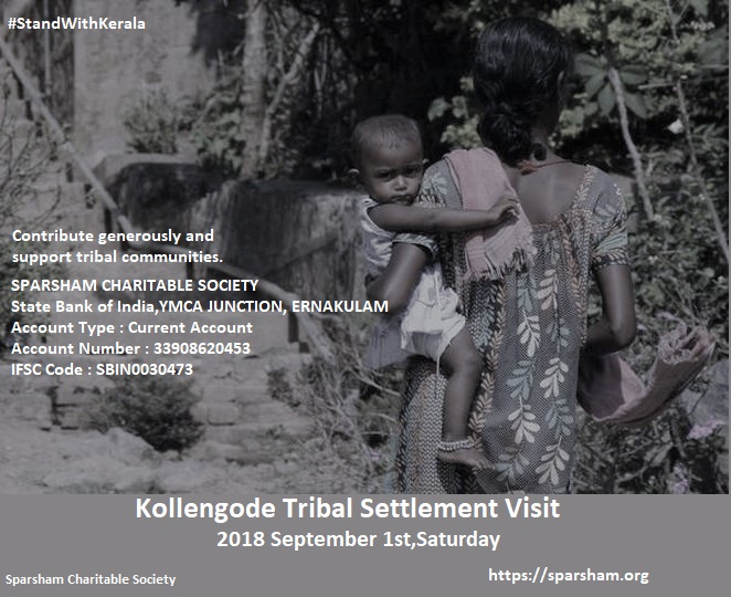 Tribal Settlement Visit Poster